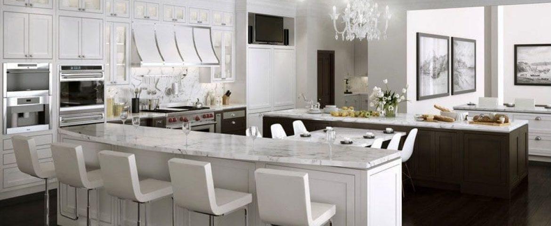 Quelques styles de cuisine de luxe au choix