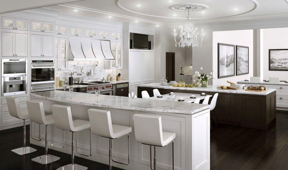 Quelques styles de cuisine de luxe au choix - PERMIS DE CONSTRUIRE ...